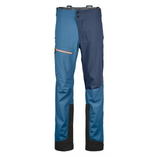 Ortovox 3L Ortler Pants M blue sea