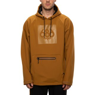 686 Waterproof Hoody golden brown
